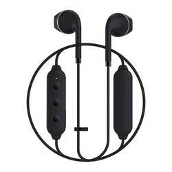 Happy Plugs Wireless II Earbuds - безжични Bluetooth слушалки с микрофон за мобилни устройства (черен)