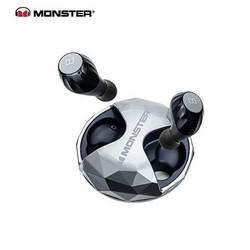 Monster Clarity HD Airlinks High Definition True Wireless EarBuds - безжични слушалки за смартфони и мобилни устройства (черен)