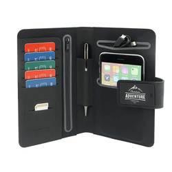 PowerBag Collection 595 - текстилен органайзер с джобове и външна батерия (4000mAh)