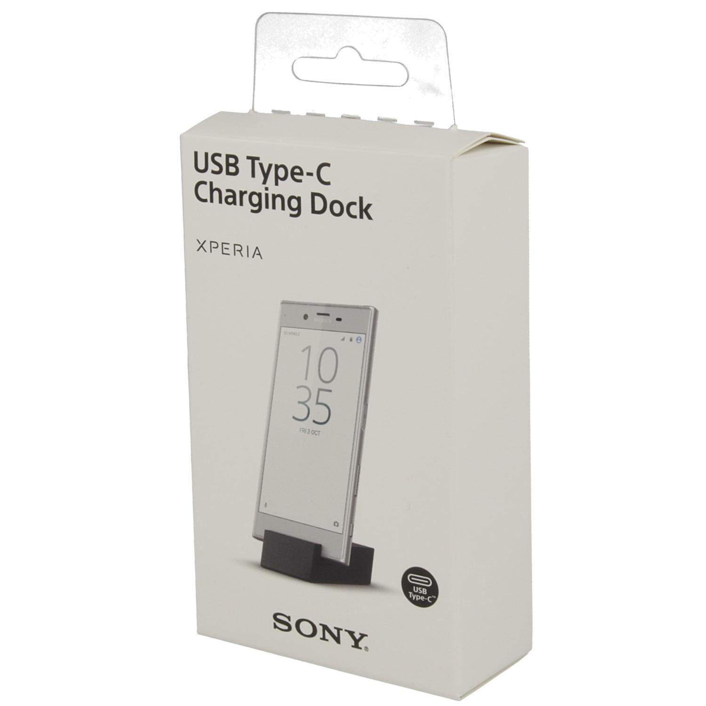 Sony Docking Station DK60 — док станция за мобилни устройства с USB-C (черен) - 3