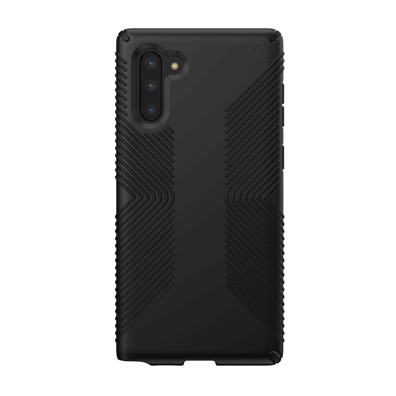 Speck Presidio Grip Case — удароустойчив хибриден кейс за Samsung Galaxy Note 10 (черен) - 1