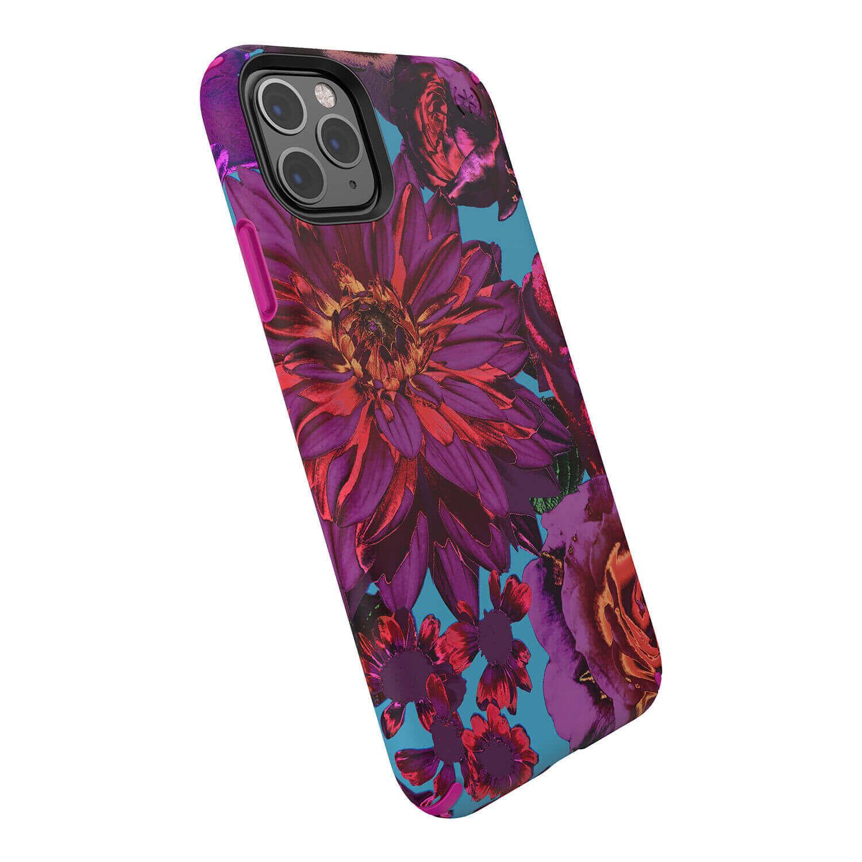 Speck Presidio Inked Case — удароустойчив хибриден кейс за iPhone 11 Pro Max (розов) - 5