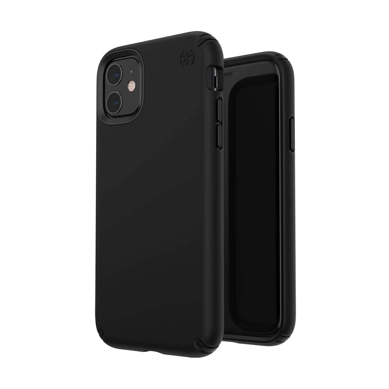 Speck Presidio Pro Case — удароустойчив хибриден кейс за iPhone 11 (черен) - 2