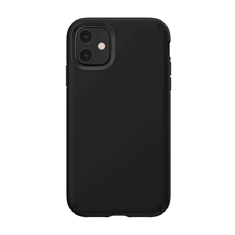 Speck Presidio Pro Case — удароустойчив хибриден кейс за iPhone 11 (черен) - 1