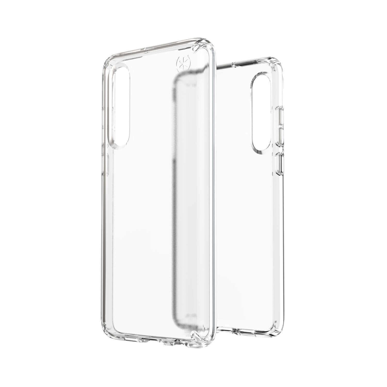 Speck Presidio Stay Clear Case — удароустойчив хибриден кейс за Huawei P30 (прозрачен) - 5