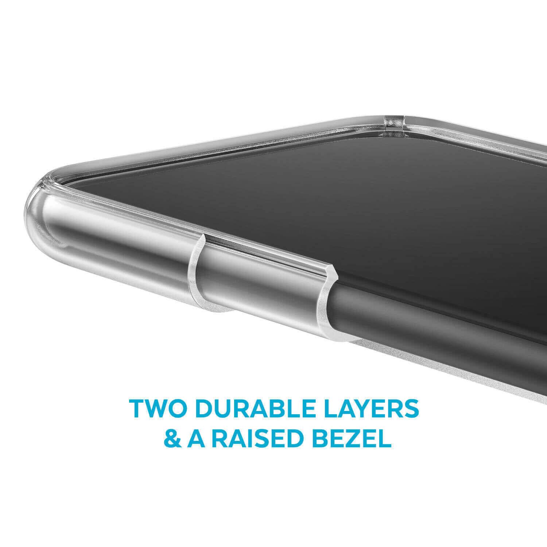 Speck Presidio Stay Clear Case — удароустойчив хибриден кейс за iPhone 11 (прозрачен) - 5