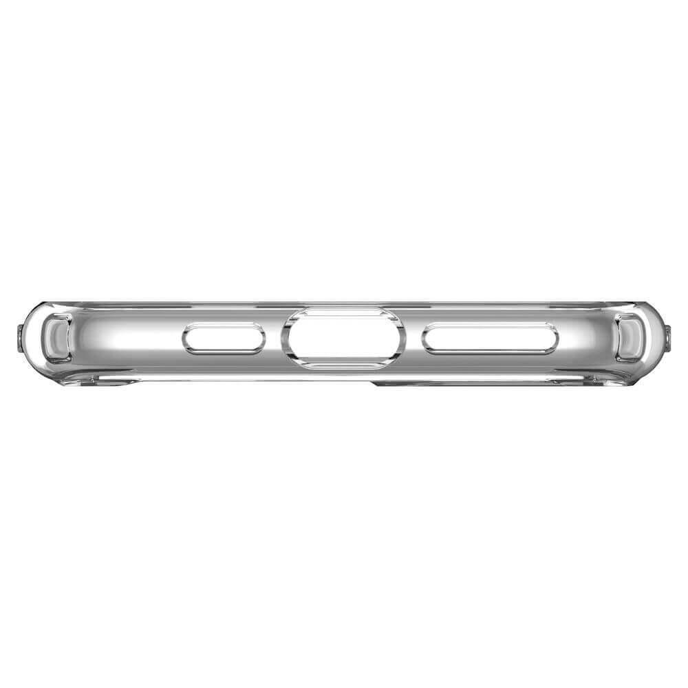 Spigen Crystal Hybrid Case — хибриден кейс с висока степен на защита за iPhone 11 Pro (прозрачен) - 4