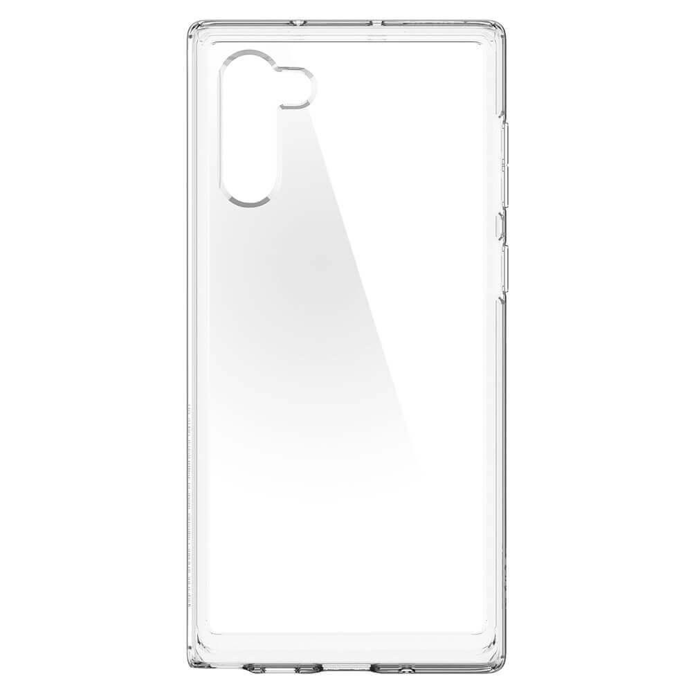 Spigen Crystal Hybrid Case — хибриден кейс с висока степен на защита за Samsung Galaxy Note 10 (прозрачен) - 3