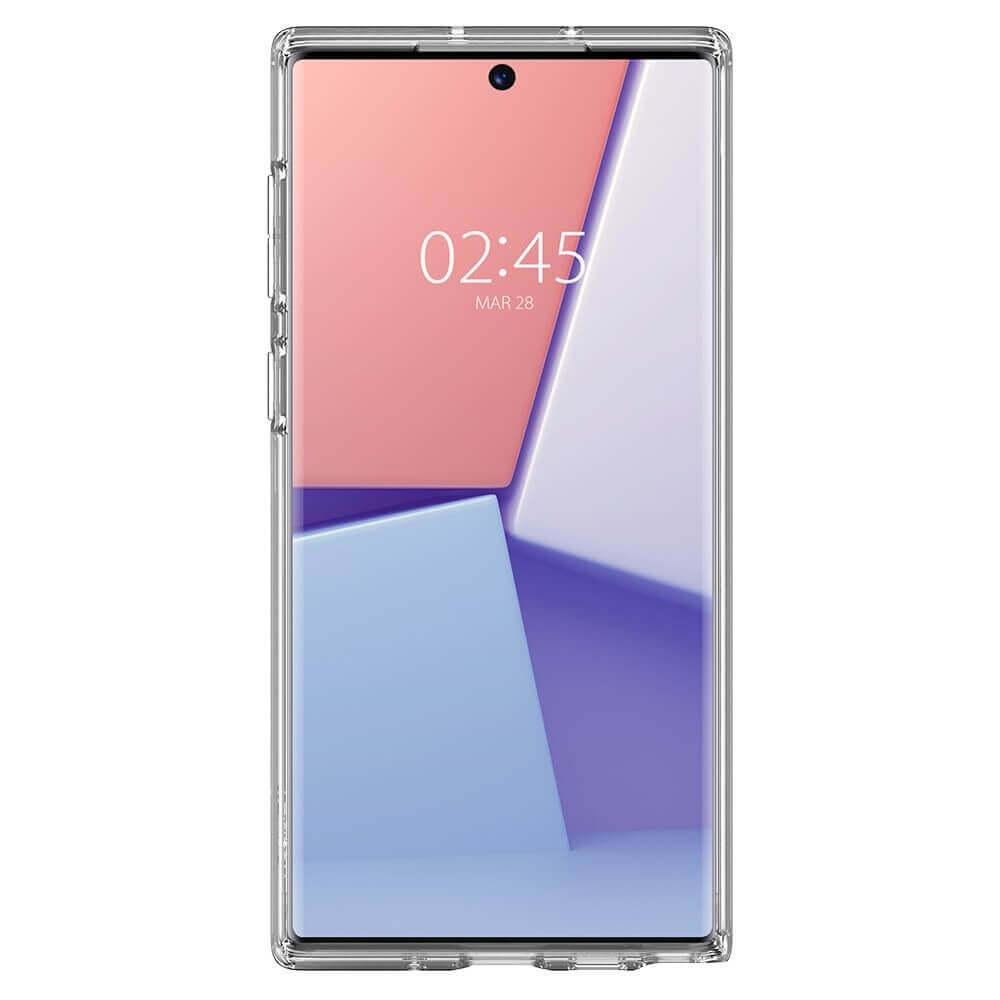 Spigen Crystal Hybrid Case — хибриден кейс с висока степен на защита за Samsung Galaxy Note 10 (прозрачен) - 5