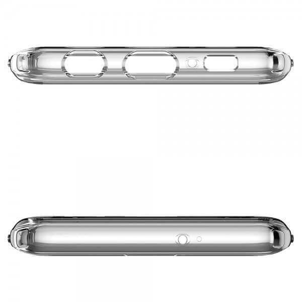 Spigen Crystal Hybrid Case — хибриден кейс с висока степен на защита за Samsung Galaxy S10 (прозрачен) - 4