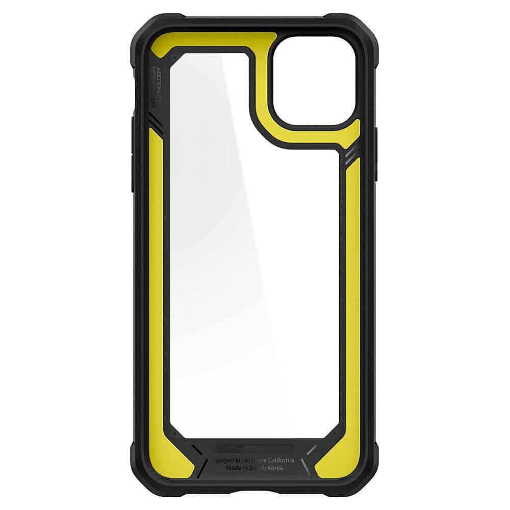 Spigen Gauntlet Case — хибриден кейс с висока степен на защита за iPhone 11 Pro Max (черен) - 4
