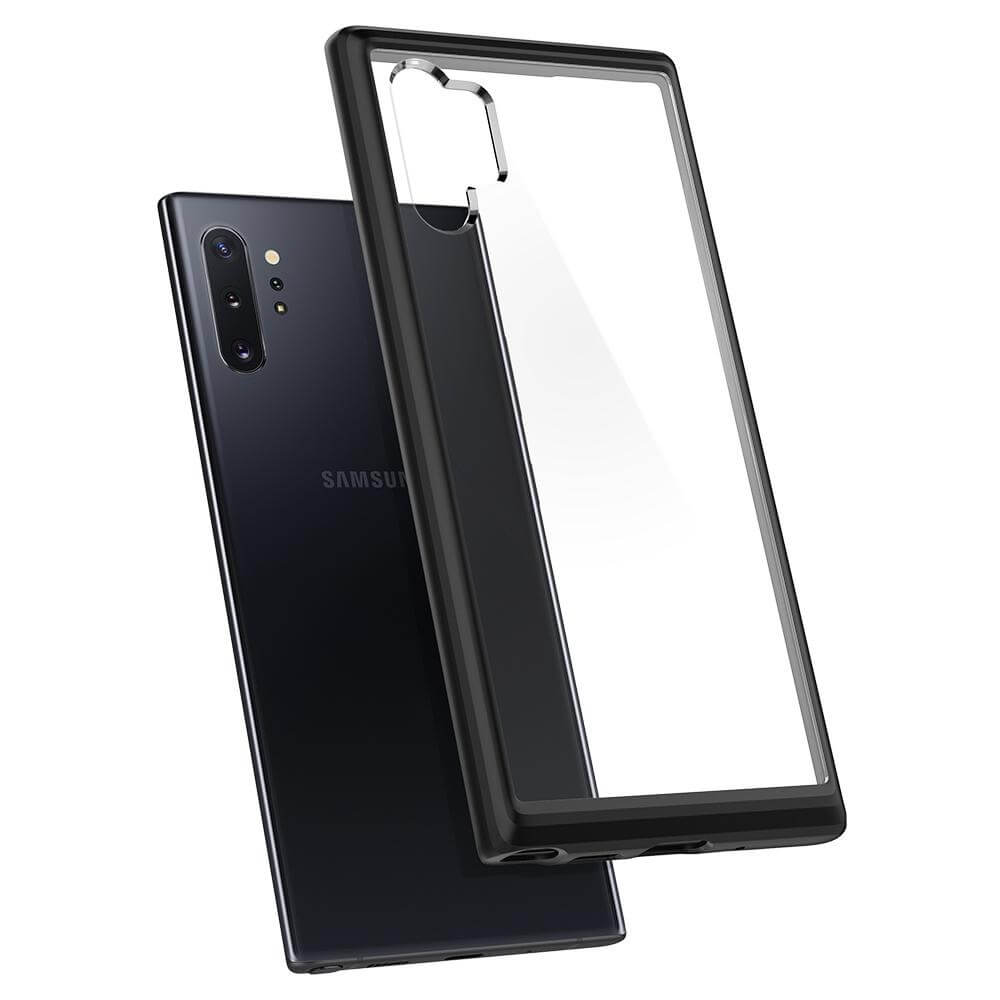 Spigen Ultra Hybrid Case — хибриден кейс с висока степен на защита за Samsung Galaxy Note 10 Plus (черен) - 2