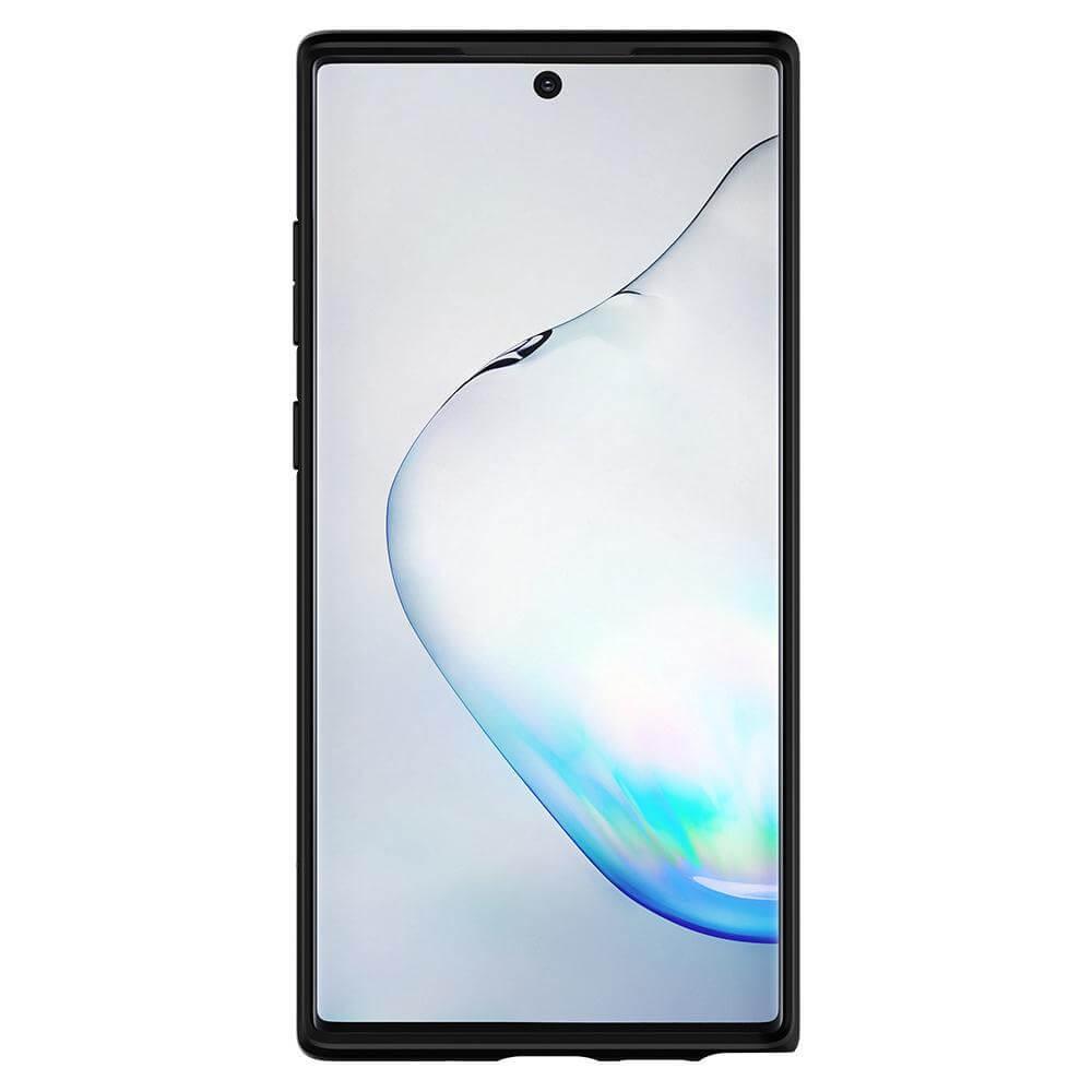 Spigen Ultra Hybrid Case — хибриден кейс с висока степен на защита за Samsung Galaxy Note 10 Plus (черен) - 3