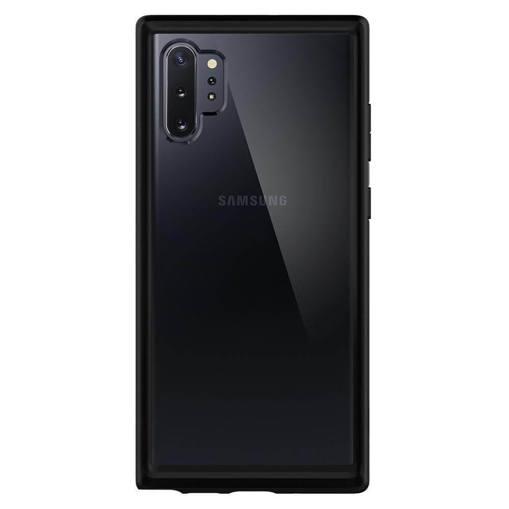 Spigen Ultra Hybrid Case — хибриден кейс с висока степен на защита за Samsung Galaxy Note 10 Plus (черен) - 1