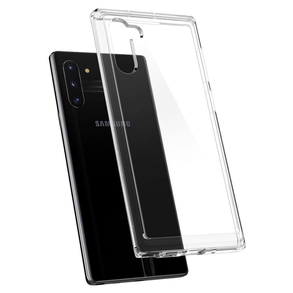 Spigen Ultra Hybrid Case — хибриден кейс с висока степен на защита за Samsung Galaxy Note 10 (прозрачен) - 4