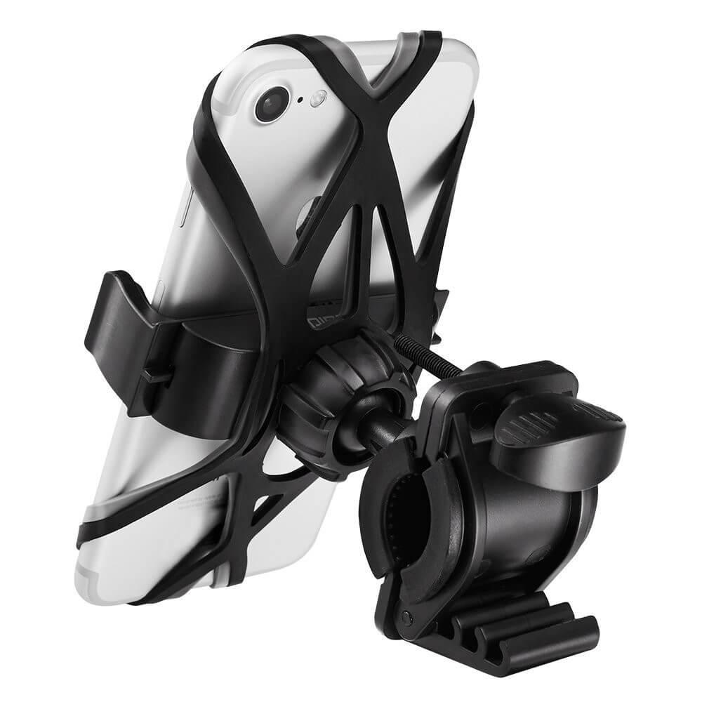 Spigen Velo Bike Mount Holder A250 — универсална поставка за колело за мобилни телефони (черна) - 3