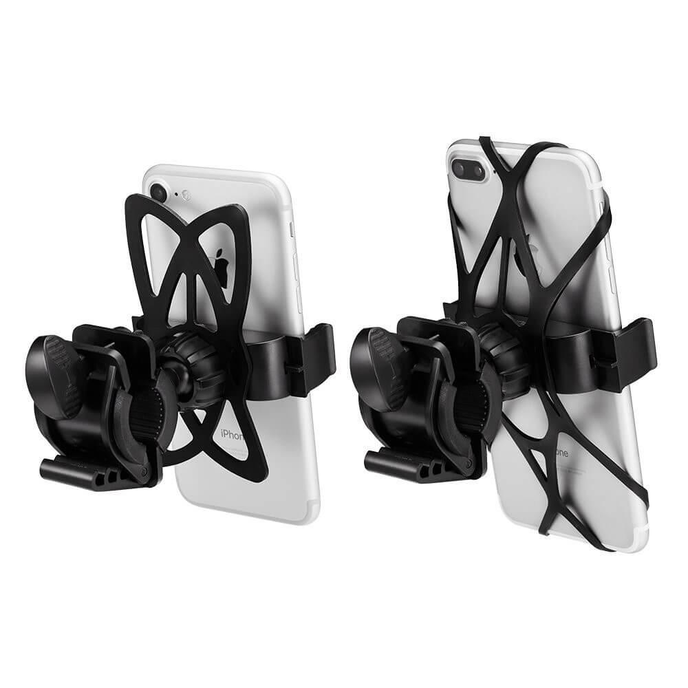 Spigen Velo Bike Mount Holder A250 — универсална поставка за колело за мобилни телефони (черна) - 2