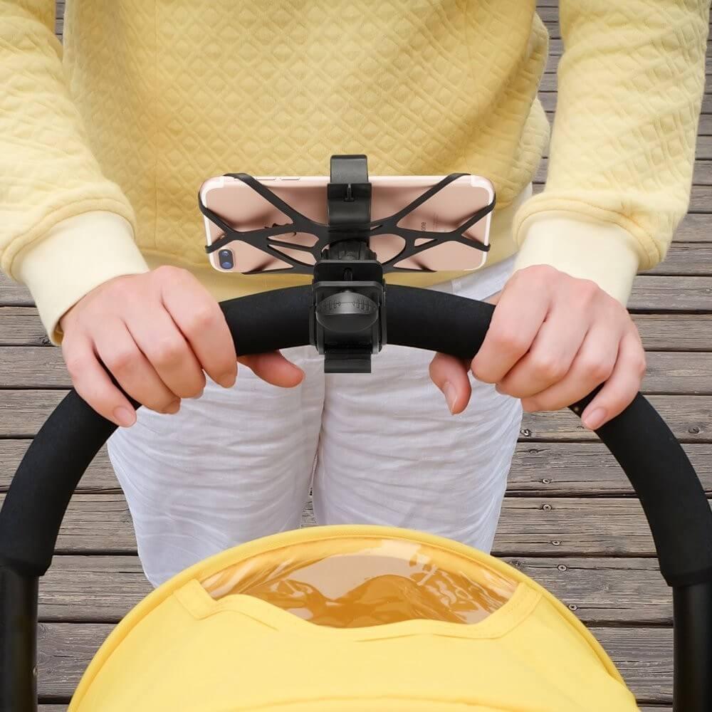 Spigen Velo Bike Mount Holder A250 — универсална поставка за колело за мобилни телефони (черна) - 4