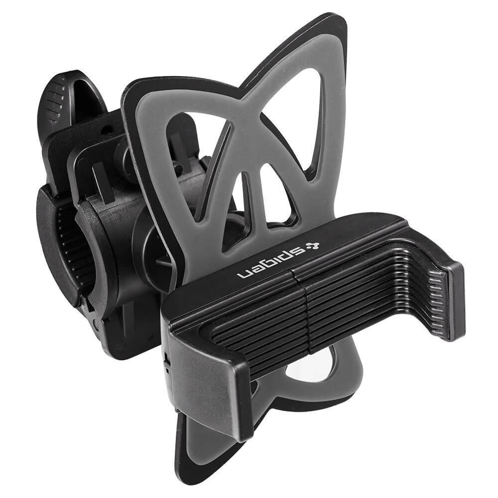 Spigen Velo Bike Mount Holder A250 — универсална поставка за колело за мобилни телефони (черна) - 1
