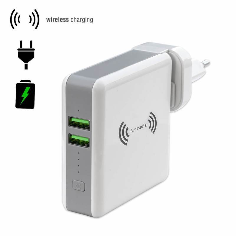 4smarts 3in1 Charger HyperVolt with Wireless Power Bank