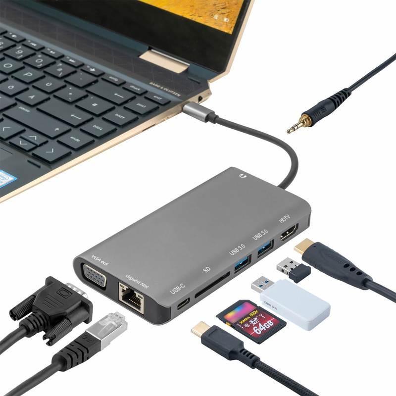 4smarts 8in1 4K USB-C Hub