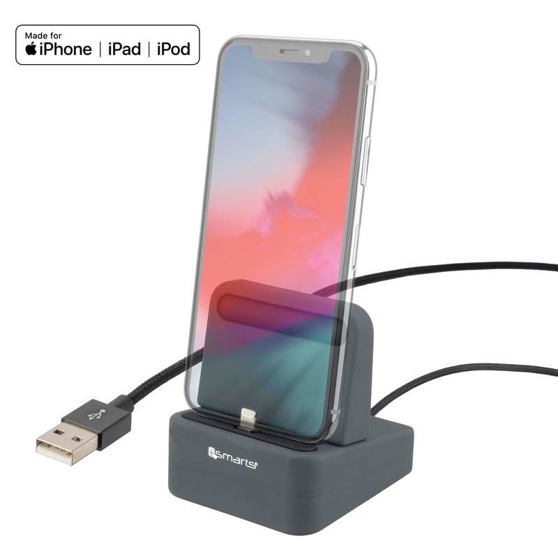 4smarts Charging Station uDock with Mfi certified Lightning cable