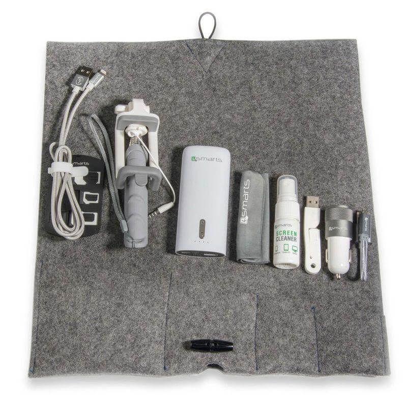 4smarts Felt Travel Bag Set
