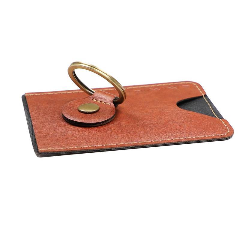 4smarts LAVAVIK Card Holder with Finger Ring and Stand Function