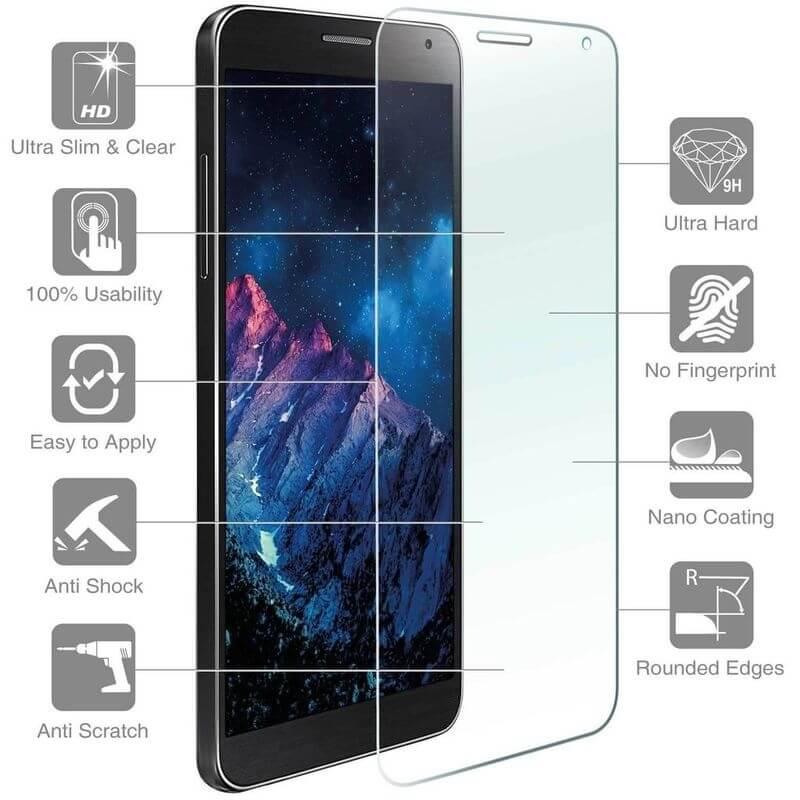 4smarts Second Glass — калено стъклено защитно покритие за дисплея на Lenovo C2 (прозрачен)