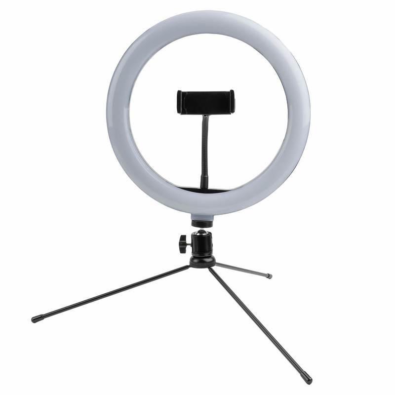 4smarts Selfie Tripod LED LoomiPod XL - универсален трипод с LED светлина за смартфони (35-173 см) (черен)