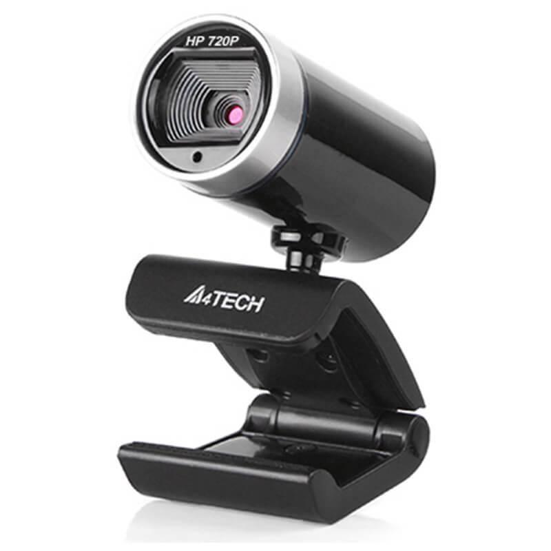 A4Tech PK-910P HD WebCam - 720p домашна уеб видеокамера с микрофон (черен)