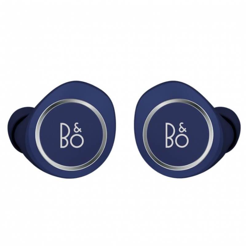 Bang & Olufsen Beoplay E8 — уникални безжични слушалки с микрофон и управление на звука за мобилни устройства (син)