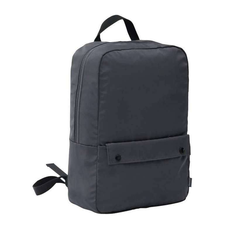 Baseus Basics Series 13 Laptop Backpack (LBJN-E0G) - стилна раница за Macbook Pro 13, Air 13 и лаптопи до 13 инча (тъмносив)