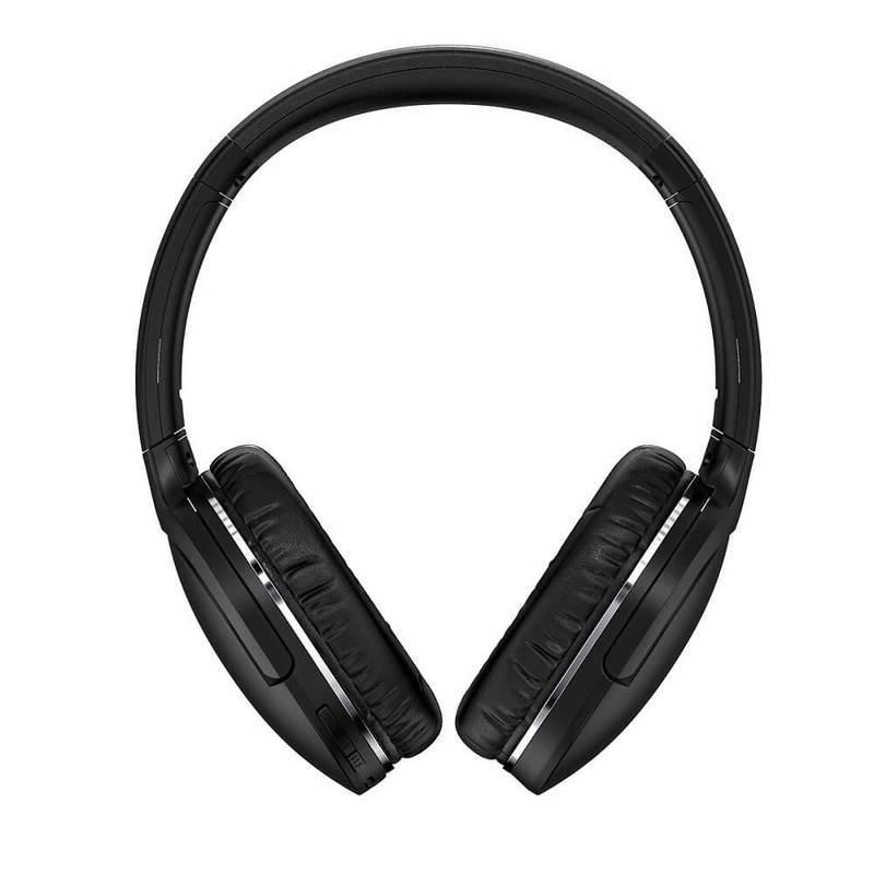Baseus Encok D02 Pro Wireless Over-Ear Headphones - безжични блутут слушалки за мобилни устройства (черен)