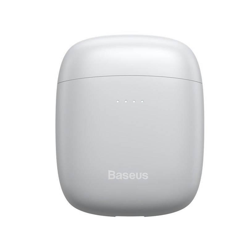 Baseus Encok W04 TWS In-Ear Bluetooth Earphones - безжични блутут слушалки със зареждащ кейс за мобилни устройства (бял)