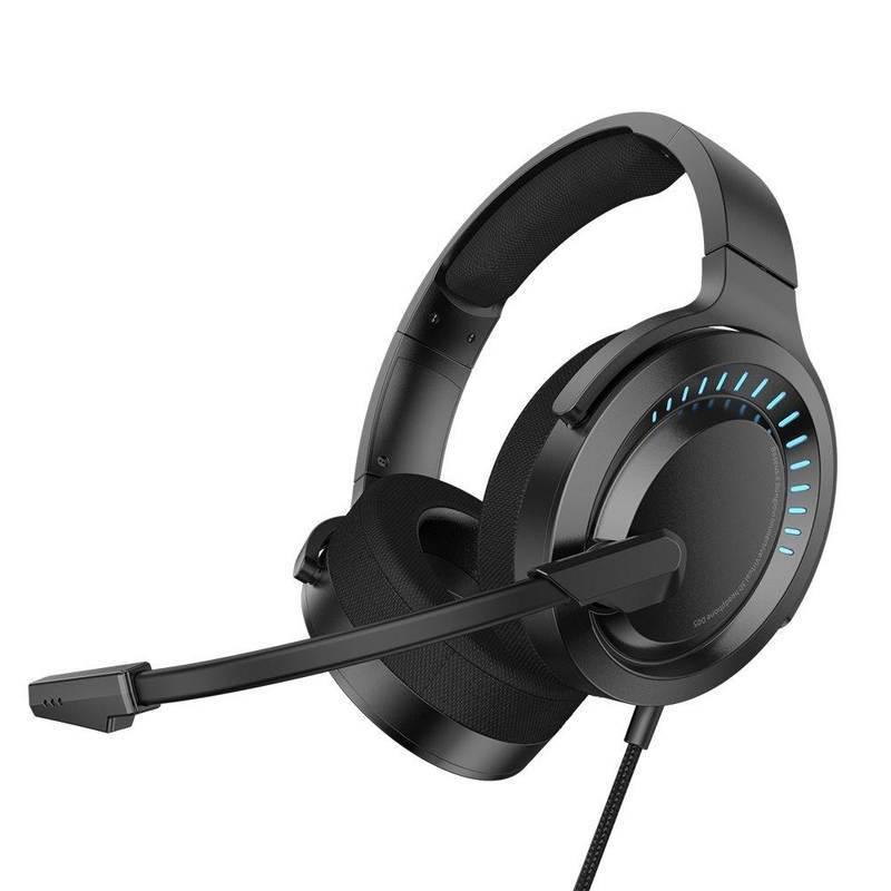 Baseus Gamo D05 Gaming Headset - геймърски слушалки с микрофон и управление на звука (черен)