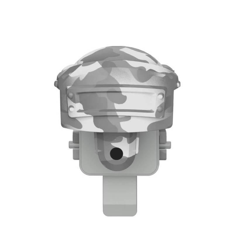 Baseus Level 3 Helmet PUBG Gamepad Joystick - геймпад джойстик за стрелба за PUBG и други игри (бял камуфлаж)