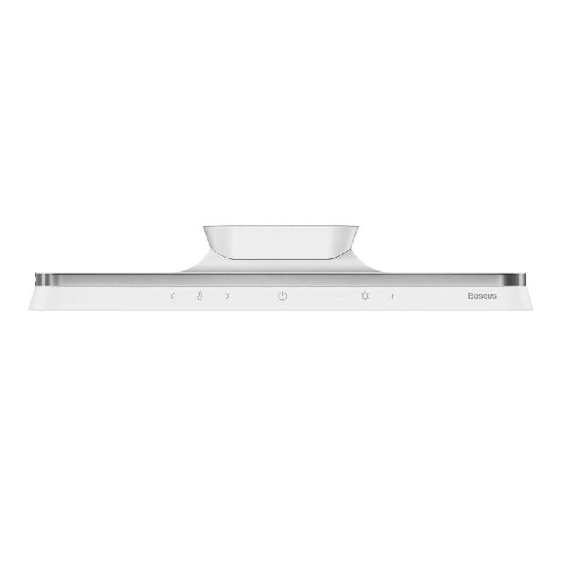 Baseus Magnetic Stepless Dimming Desk Lamp Pro - магнитна настолна LED лампа (бял)