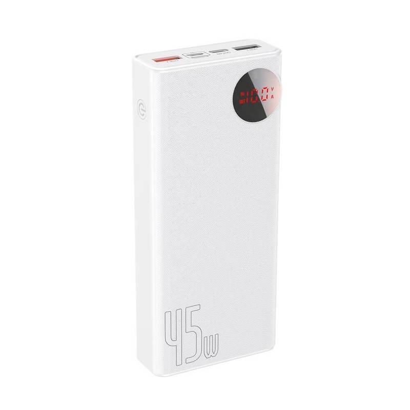 Baseus Mulight Power Bank with Digital Display Quick Charge 45W (PPMY-A01)