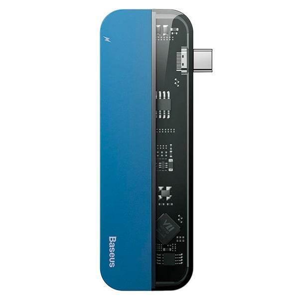 Baseus Transparent Series USB-C Hub CAHUB-TD03
