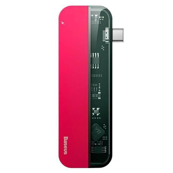 Baseus Transparent Series USB-C Hub CAHUB-TD09