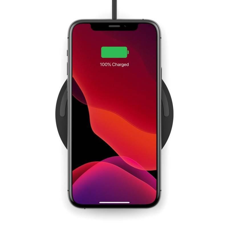 Belkin Boost Charge Wireless Charging Pad 10W - поставка (пад) за безжично зареждане за Apple, Samsung, LG, Sony и други QI съвместими устройства (черен)