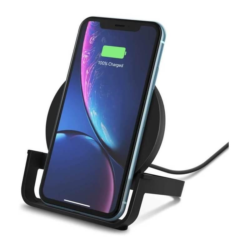 Belkin Boost Charge Wireless Charging Stand 10W - поставка (пад) за безжично захранване за QI съвместими устройства (черен)