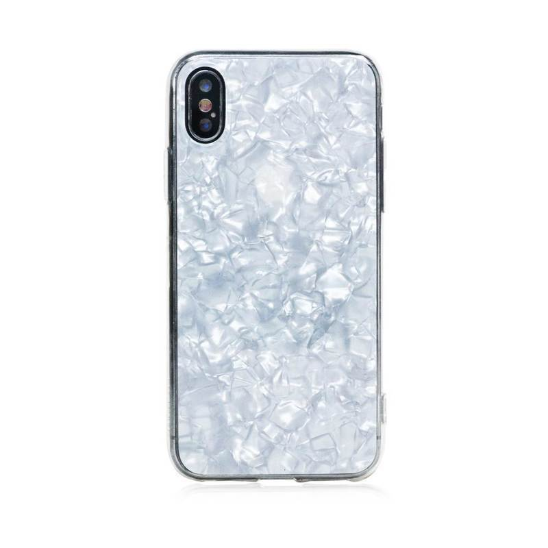 Bling My Thing Chic TPU Pearl White