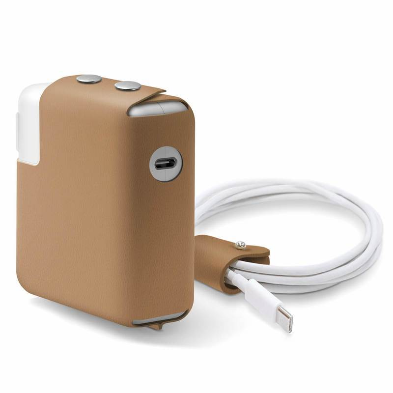 Elago MacBook Charger Leather Cover