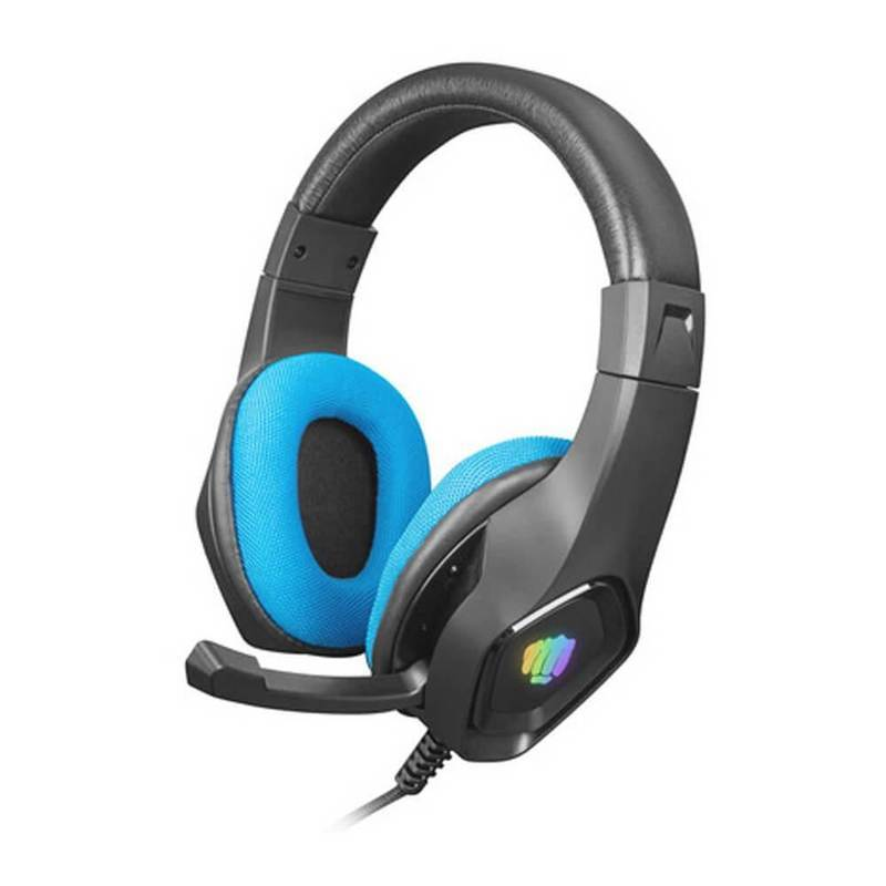 Fury Gaming Headset Phantom RGB - USB гейминг слушалки с микрофон за PC и лаптопи (черен-син)