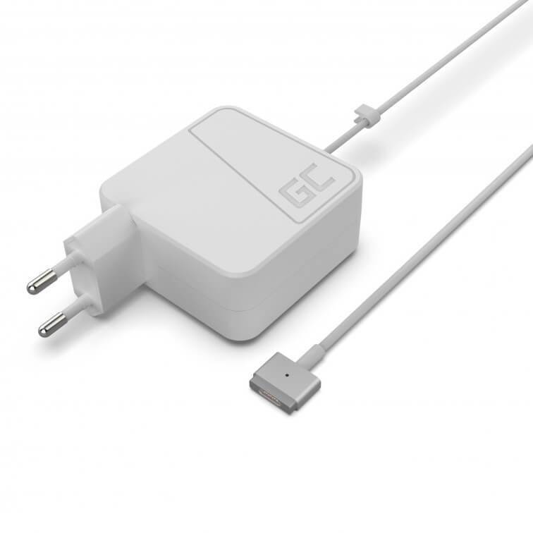 Green Cell Magsafe 2 Charger AC Adapter EU 45W