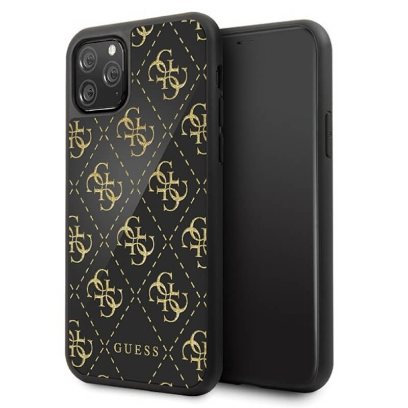 Guess 4G Double Layer Glitter Case