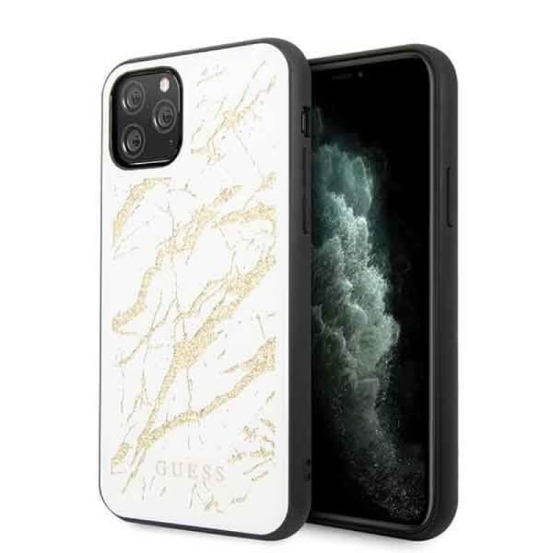 Guess Marble Glass Case