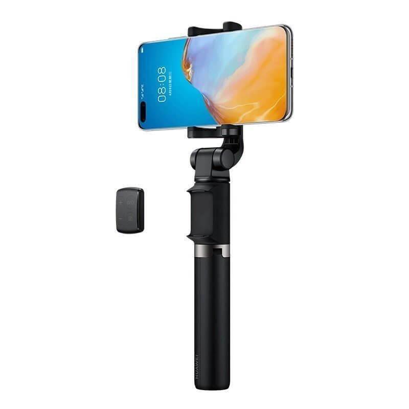Huawei AF15 Pro Selfie Stick + Tripod Telescopic Stand Bluetooth - разтегаем безжичен селфи стик и трипод за мобилни телефони (черен)